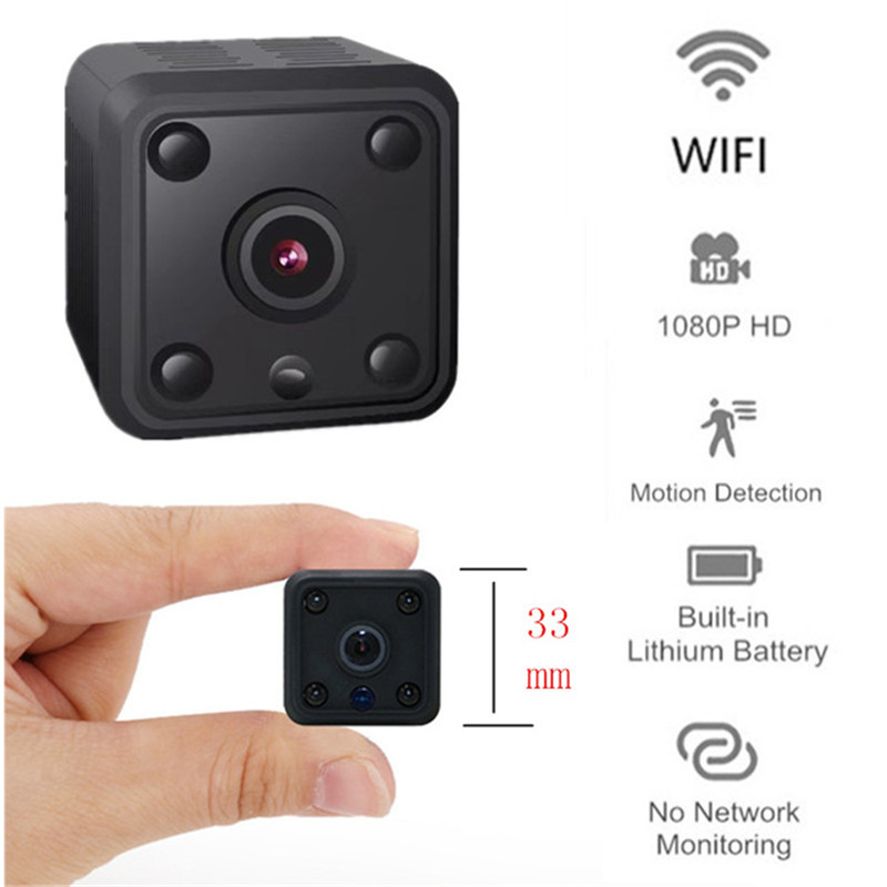 Mini Wifi IP Camera 1080P HD Remote Playback Video Small Micro Cam Night Vision Home Monitor 64G Camcorder Security camera