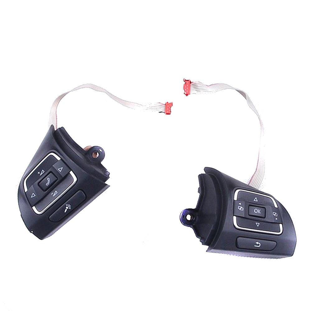 TUKE OEM MF Volant Boutons Interrupteur Coupe VW Golf 5 VW Jetta MK6 VW Tiguan EOS CC Caddy 5C0 959 537 5C0 959 538