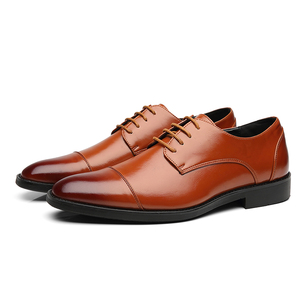 Image 5 - Misalwa Brand Men Simple Lightweight Men Classic Derby Shoes Male Business Dress Formal Shoes Red Blue Size 37 48 Drop Shipping