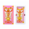 New Japan Anime tarjetas Card Captor Sakura card captor sakura de Cosplay Prop juguetes Magic Card Captor Sakura Clow Jugando A las cartas del tarot