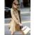 Estilo británico Clásico de Color Caqui Larga Trinchera Abrigos Mujer Abrigo de Doble Botonadura mujeres Abrigo de Invierno 2016 Nueva prendas de Vestir Exteriores Femenina F261