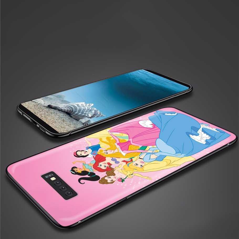 Lavaza Karikatür Prenses samsung kılıfı Galaxy J6 A9 A8 A7 A70 A6 A5 A50 A40 A30 A3 A10 2018