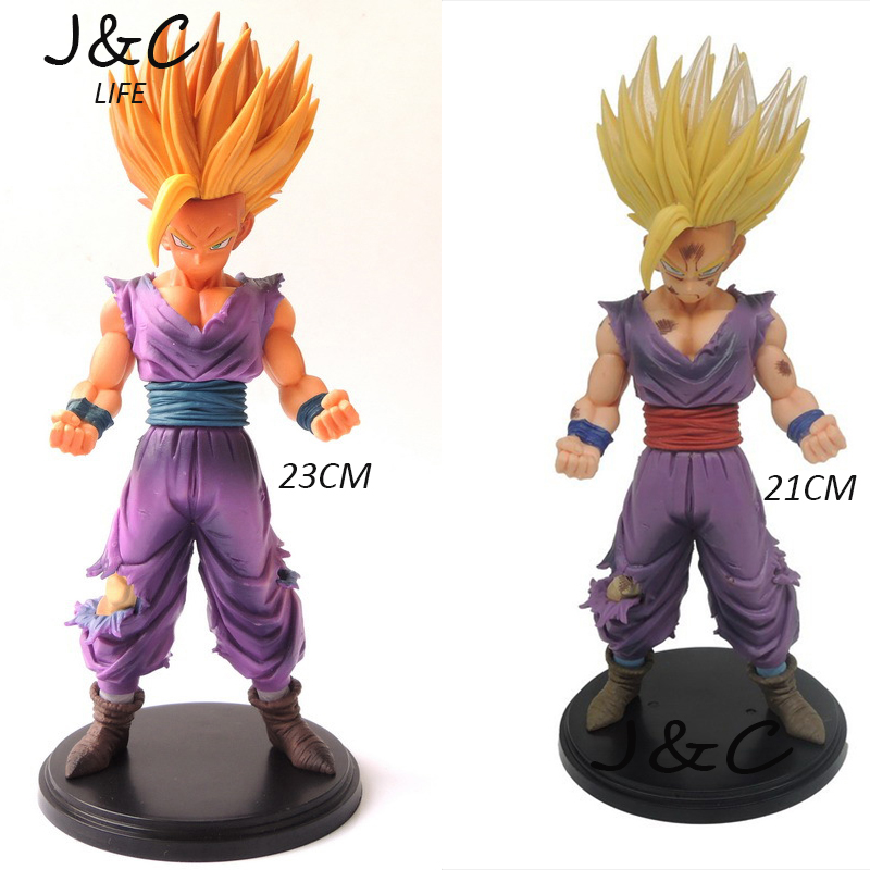 Hot Anime Dragon Ball Z Action Figures Master Stars Piece The Son Gohan Super Saiyan dra ...