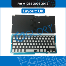 20pcs/Lot For Macbook Pro 15.4″ A1398 Keyboard Backlight Backlit Replacement UK 2008 2009 2010 2011 2012