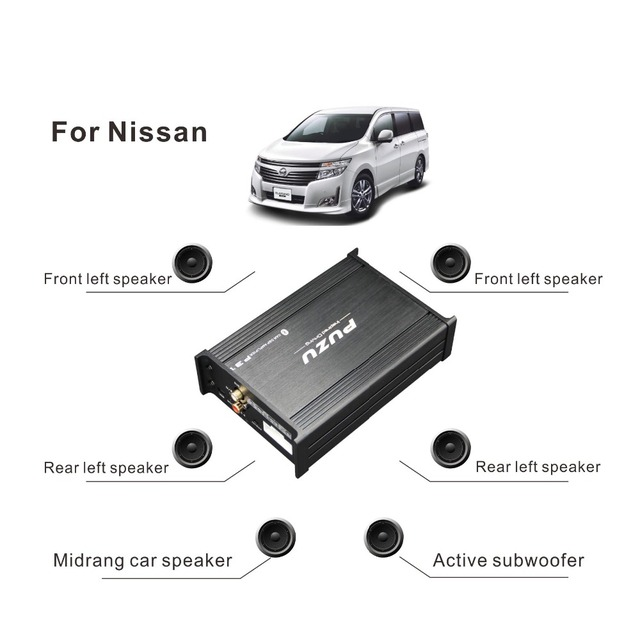 Digital Sound Processsor Car Dsp Amplifier With 4x85w For