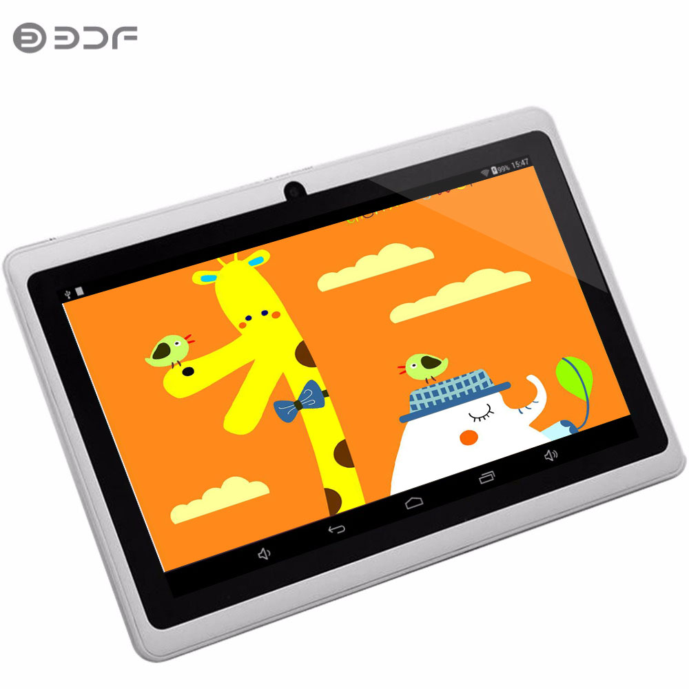 BDF 7  Android Tablet PC Google A33 Quad-Core Bluetooth WiFi Flash Tablet PC Have Dual Camera tablets 1024 x 600 Android Tablet new arrival 7 inch tablet pc aoson m751 8gb 1gb 1024 600 android 5 1 quad core dual cameras bluetooth multi languages pc tablets