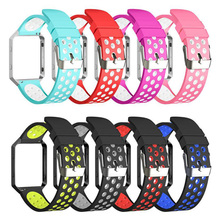 BOX-W For Fitbit Blaze Bands, Silicone Breathable Replacement Bands Sport Wristband Compatible for Fitbit Blaze Men Women