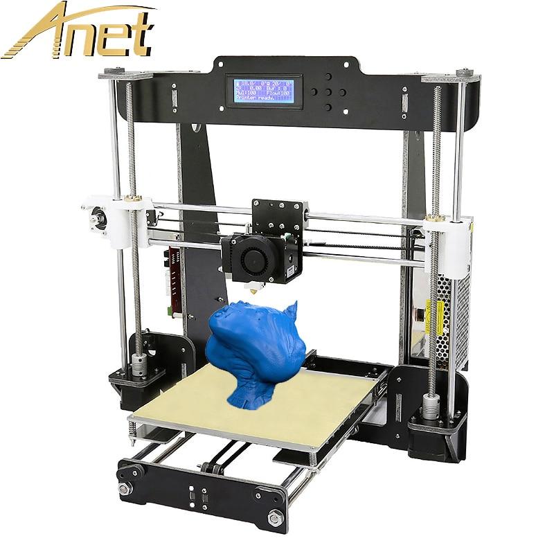 Cheap A6 3d Printer Aluminum Extruder High Precision Anet A8 Reprap Prusa i3 3d Printer kit