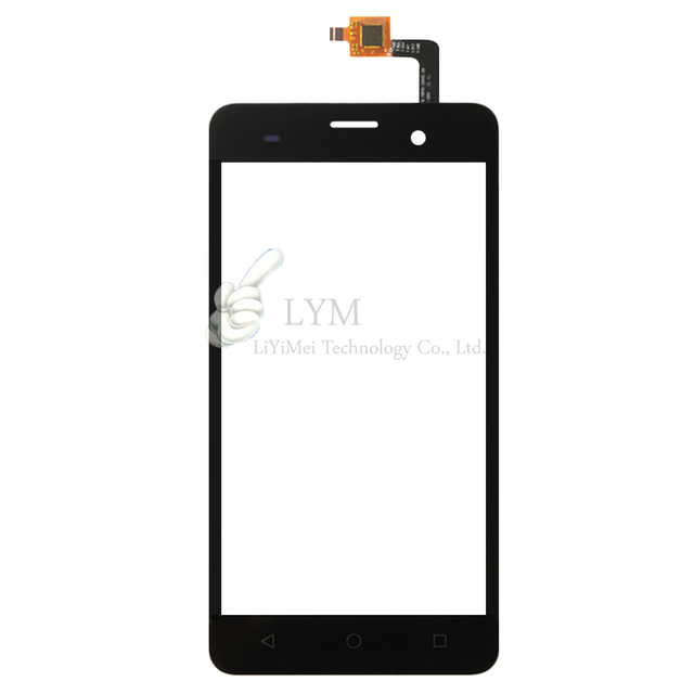"Black TP for Wiko Lenny 3 /5.0"" Touch Screen Digitizer Front Glass Panel Sensor Replacement No LCD Free Shipping+Tools"