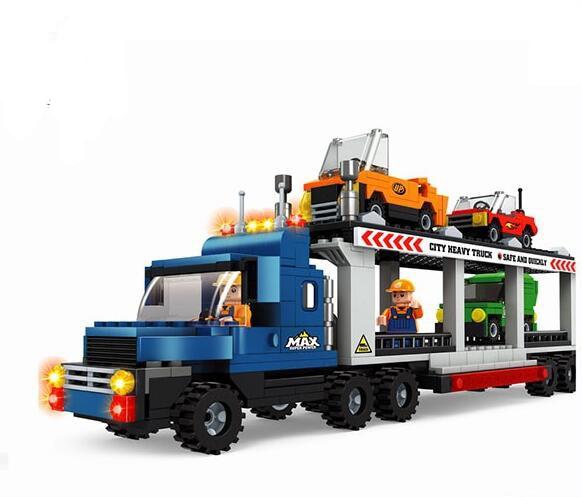 Ausini model building kits compatible with lego city car 534 3D blocks Educational model & building toys hobbies for children ausini model building kits compatible with lego city army 584 3d blocks educational model