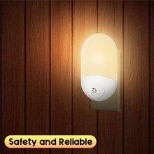 Smuxi AC 100-240 В светодиодный PIR датчик движения, умный ночной Светильник для ванной комнаты, Домашний Светильник, лампа, лампа для США, Великобритании, ЕС, штепсельная вилка, теплый белый