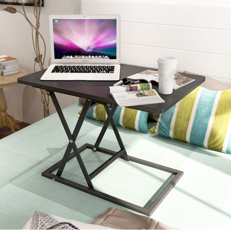 Standing Office Desk Lifting Laptop Table Home Studying Desk Folding Mobile Workbench Portable Bed Laptop Table Computer Desk portable folding computer desk simple modern laptop table lifting adjusting desk office desk learning writing table
