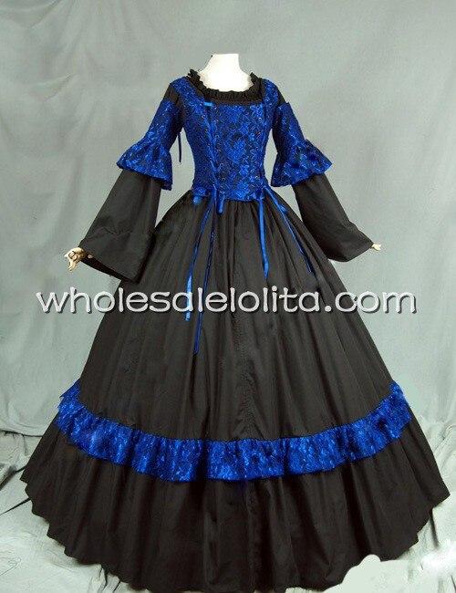Средневековый стиль ренессанс викторианский корсет платье бальное платье Reaction стимпанк