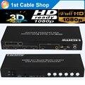 HDMI seamless switcher HDMI 4x1 Quad Multi-Viewer With Seamless Switcher with RS232 control&coaxial audio output