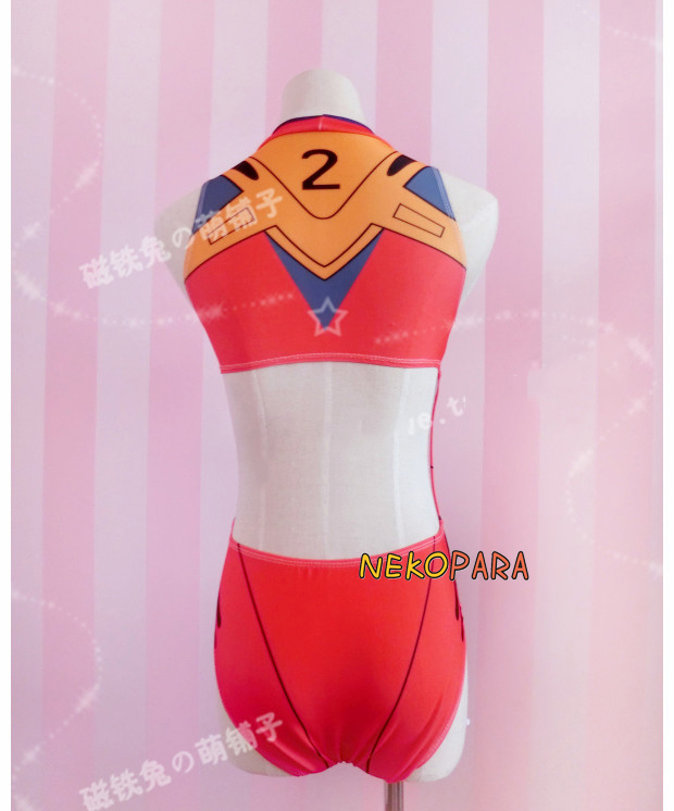 e236c2d706 Hot Anime Neon Genesis Evangelion Ayanami Rei Soryu Asuka Langley Cosplay  Costume EVA One pieces Spandex Swimsuit-in Game Costumes from Novelty &  Special ...