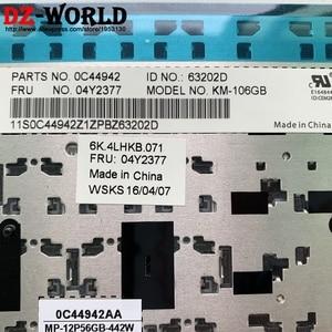 Image 3 - جديد الأصلي GB المملكة المتحدة الإنجليزية لوحة مفاتيح لأجهزة لينوفو ثينك باد P50S T560 W540 T540P W541 T550 W550S L540 L560 Teclado 04Y2377 04Y2455