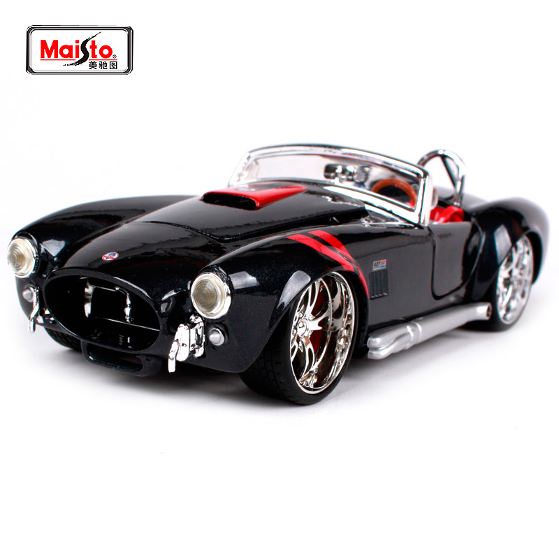 Maisto 1 24 Ford 1965 Shelby Cobra 427 Diecast Model Car Toy New In Box Free