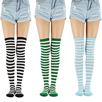 Azueженские облегающие высокие носки для девочек гольфы выше