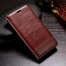 Для Xiaomi Редми 4X Чехол Редми 4 X Роскошный Кожаный Бумажник Coque Для Xiaomi Редми 4 Pro Простые Телефон Обложка Сумка Черный Коричневый 5»