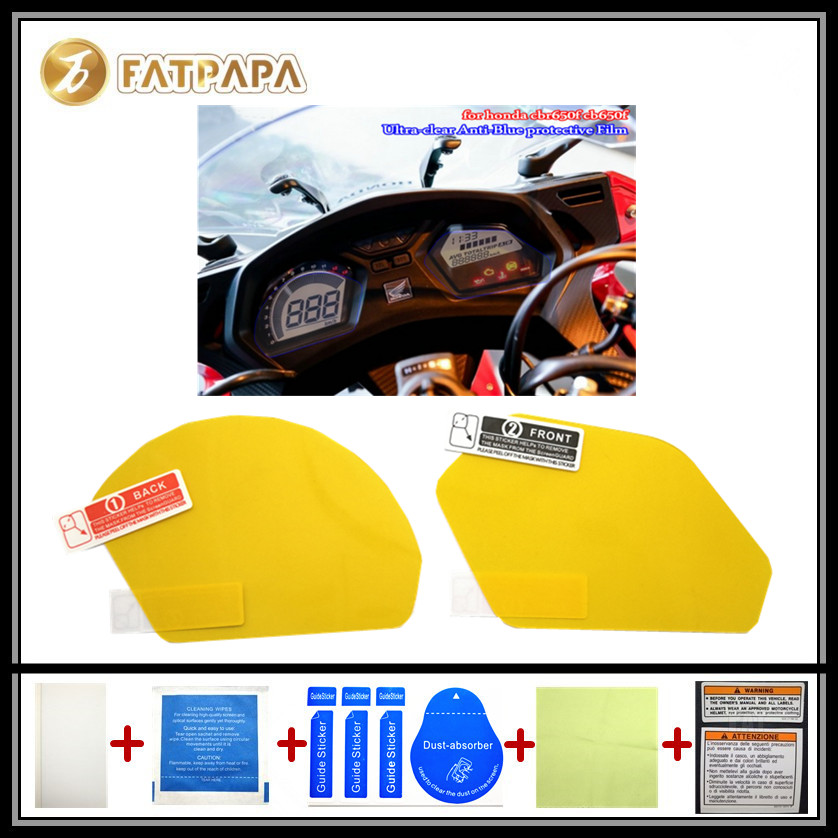 motorcycle Meter Km Table Display screen Blu-Ray Protective film Suitable FOR HONDA CBR650F CB650F
