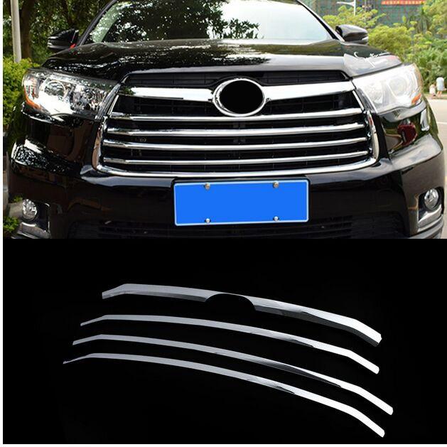 Carbon fiber Rear Bottom Armrest Storage Box Trim For Toyota Highlander 2014-17