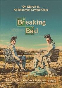 Винтажные плакаты Breaking Bad Классическая американская драма крафт-бумага постер/бар украшение для стен дома, паба