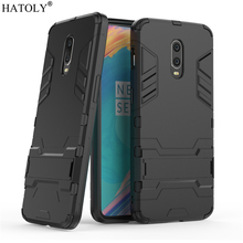 Cover Oneplus 7 Case Rubber Robot Armor Shell Bumper Fundas Protective Hard Back Phone for OnePlus