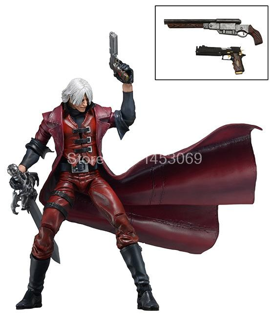 NECA Devil May Cry Dante PVC Action Figure Collectible Model Toy 7 18CM devil may cry3 dante pvc action figure model toys kids gifts collections