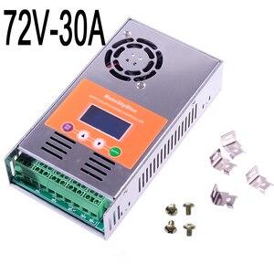 Image 2 - Makeblue MPPT Солнечный контроллер заряда 30A 45A 50A только для 72V 96V DC кислота и литиевая батарея версия V118