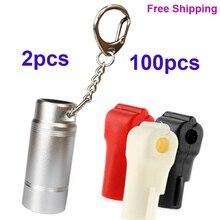 102pcs Wholesales plastic EAS Security Stop Lock Retail Shop Display Hook Anti Theft Stoplock+ Magnetic Key Detacher