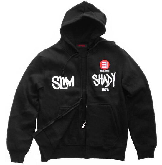 Eminem star hero jacket coat slim rap god hiphop Slim sweater Shady hoodie - Customized cosplay costume store