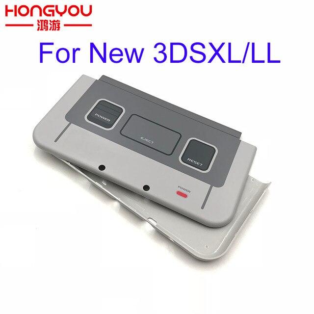 لنينتندو جديد 3DSLL XL SNES طبعة محدودة الجبهة الخلفي غطاء الإسكان شل الحال بالنسبة New3DSXL LL