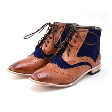 Fashion Men Boots Vintage Style Casual Men Shoes Autumn Male Pu Leather Lace Up Warm Ankle Boots Fashion Men British Shoes P20 men shoes genuine leather casual shoes men british fashion lace up men boots for male zapatos spring autumn size 39 43