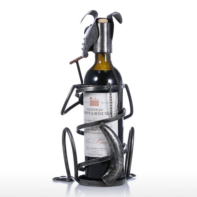 Amusing Dog Shaped Wine Bottle Holder