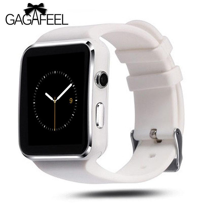GAGAFEEL X6 Bluetooth Smart Watch SIM TF Card relogio reloj inteligente Wearable Device Smartwatch For Android Phone цены