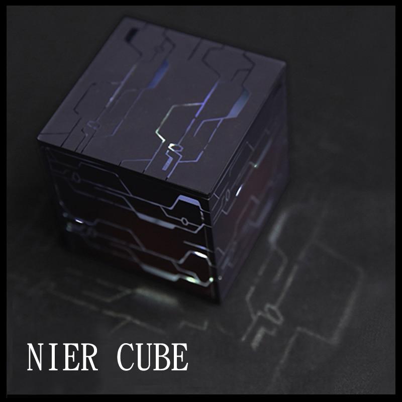 Athemis NieR Automata Cosplay Probs 9S 2B Game Cos Black Box Cube Data Storage Self-explosion Creative