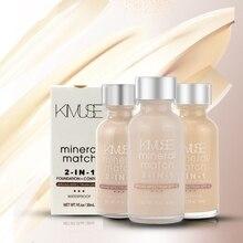Makeup Face Foundation Liquid Base Primer High Definition Smothing Sun Block Waterproof Cosmetics