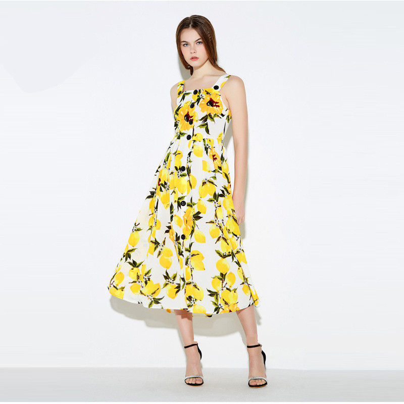 Compare Prices on Lemon Yellow Dress- Online Shopping/Buy Low ...