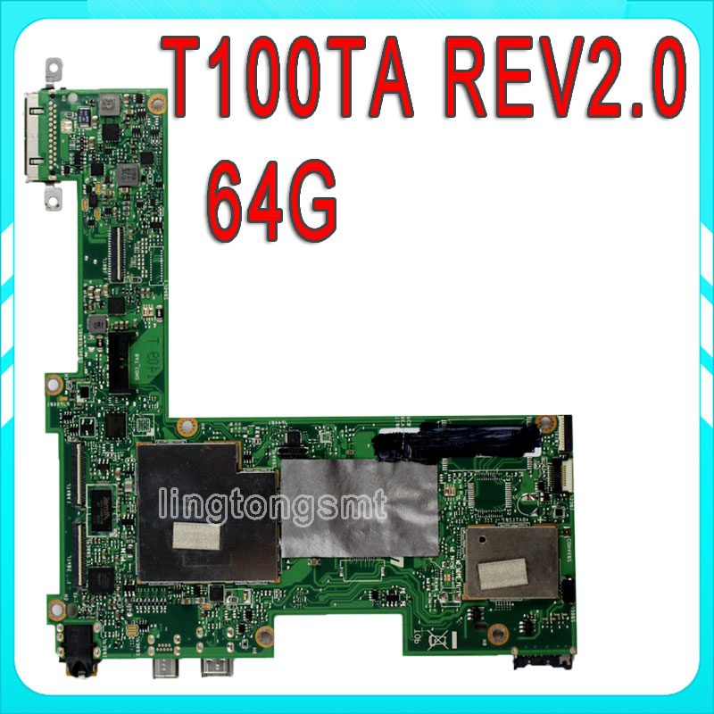 T100TA for ASUS Mainboard 64G T100TA REV2.0 motherboard fully tested