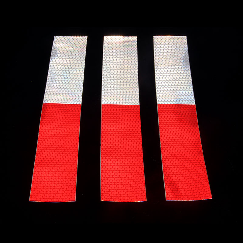 1pcs Car Truck Styling Reflective Tape Safety Warning Sticker Decal Vinyl Film