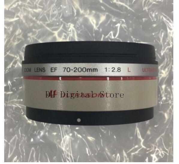 Новые оригинальные запчасти для объективов Canon EF 70 200 мм f/2.8L IS USM передняя линза бочка УФ объектив трубка кольцо в сборе
