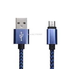Micro USB Cable USB2.0 V8 Sync Data cable android Charger Cable for Cubot Rainbow S500 Dinosaur Cheetahphone S600 P12 H2 S550