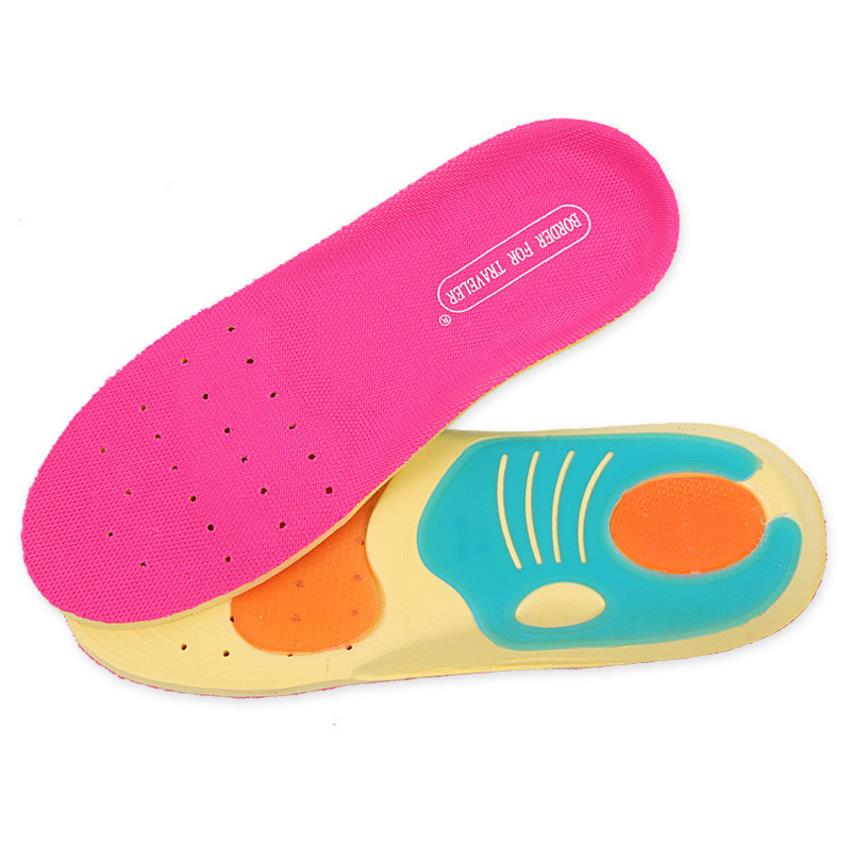 Insole sports insole sweat-absorbing breathable fabric comfortable insole can be cut