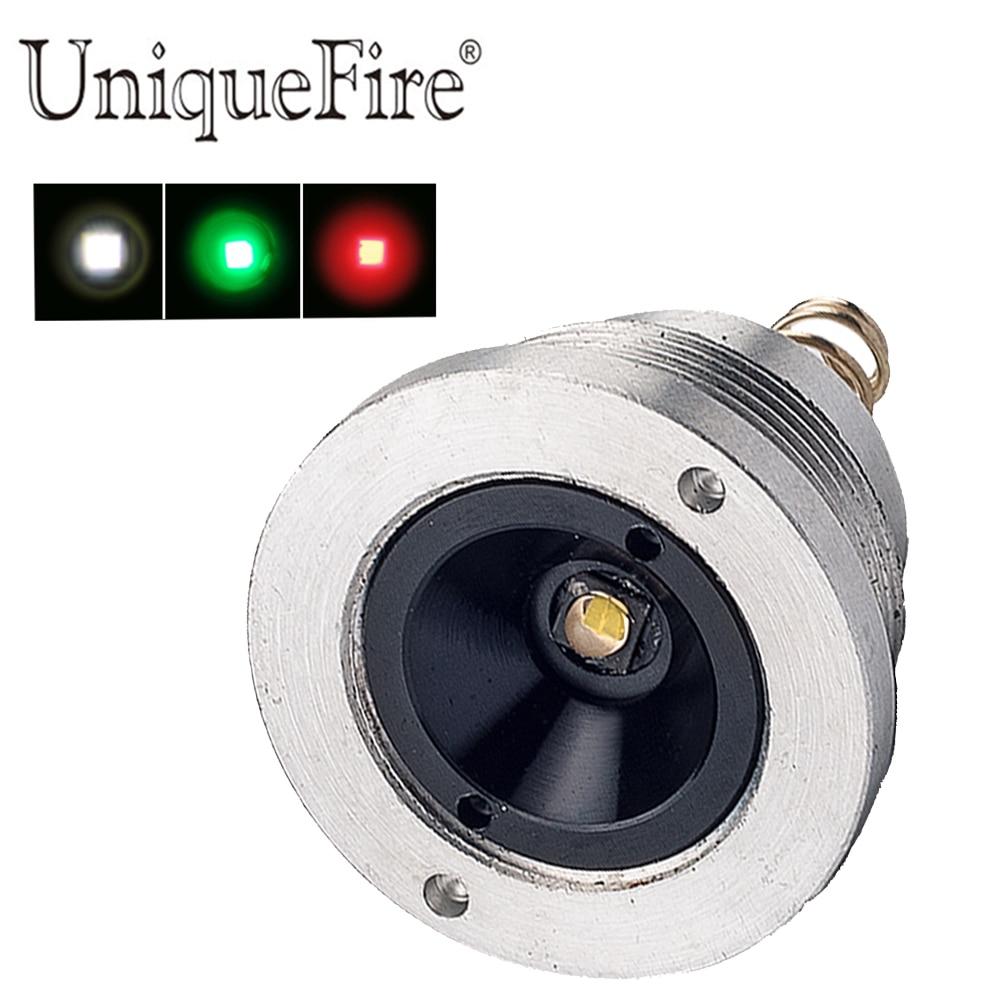 UniqueFire XRE (grön / röd / vit) ljus led-pill 1-funktionsdrivna drivlamphållare för UF-1503 T50 ficklampa