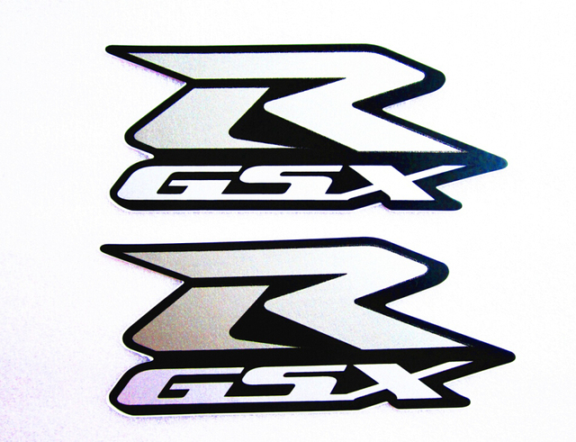 silver sticker vinyl decal gsxr logo badge gsxr stickers for suzuki rh aliexpress com gsxr logo vector gsxr logo wallpaper