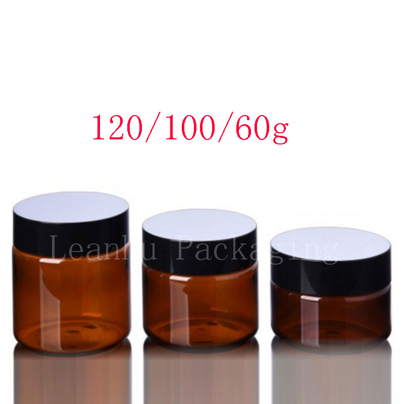60g 100g 120g brown PET jar (1)