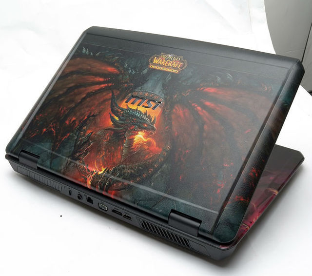 Customized design laptop decal skin for msi gs70 2pe 2pc stealth series notebook sticer custom pattern