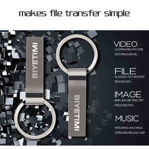 Image 5 - Metal Key Ring USB Flash Driver 64gb 32gb 16gb portable PenDrive Real Memory Capacity Pen drive Storage flash disk