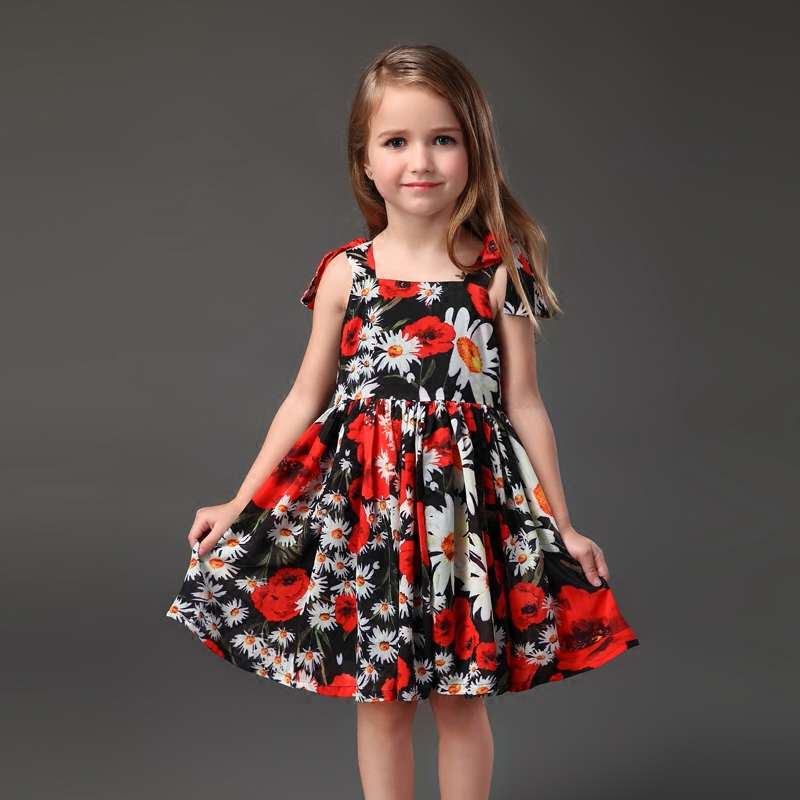 Summer Brand chiffon mom kids girl dress pleated skirts family look clothes sister matching clothing mother and daughter dresses brand summer sunflower lace plus large size mom girl princess one piece mother and daughter skirts kids girls sleeveless dresses