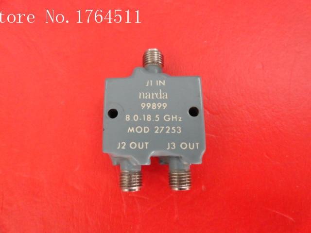 [BELLA] Supply Narda 27253 8-18.5GHz RF Coaxial Power Divider SMA A Two
